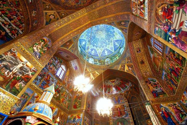 Armenian Orthodox Church ceiling